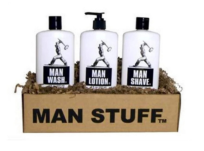 Man Stuff 3 Piece Max 77% OFF Luxury Set for 8 Men oz half Wash fl Including;
