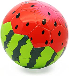 picador Cute Soft Cartoon Soccer Ball Size 3 Toy Gift for Kids, Girls, Boys, Childrens Day, Kindergarten, Shipped Deflated