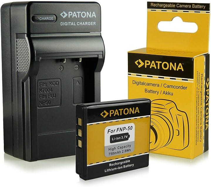 Cargador + Batería Fuji NP-50 | Kodak Klic-7004 | Pentax D-Li68 / D-Li122 para Fujifilm FinePix F70EXR / F80EXR / F200EXR / F300EXR / F500EXR / F550EXR / F600EXR y mucho más… - Kodak EasyShare M1033 / M1093 / V1073 / V1233 / V1253 / V1273 - Pentax Q / Q10 | Pentax Optio A40 / S10 / VS20
