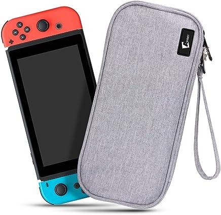 「最新版」scorel ニンテンドースイッチ ケース オックスフォード布/精密な裁縫/消臭処理/オシャレ Nintendo Switch カバー ゲームカード収納 ケース