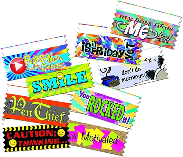 Hodges Badge Company Fun Work Multicolor Ribbons 100 Count Variety Pack 100