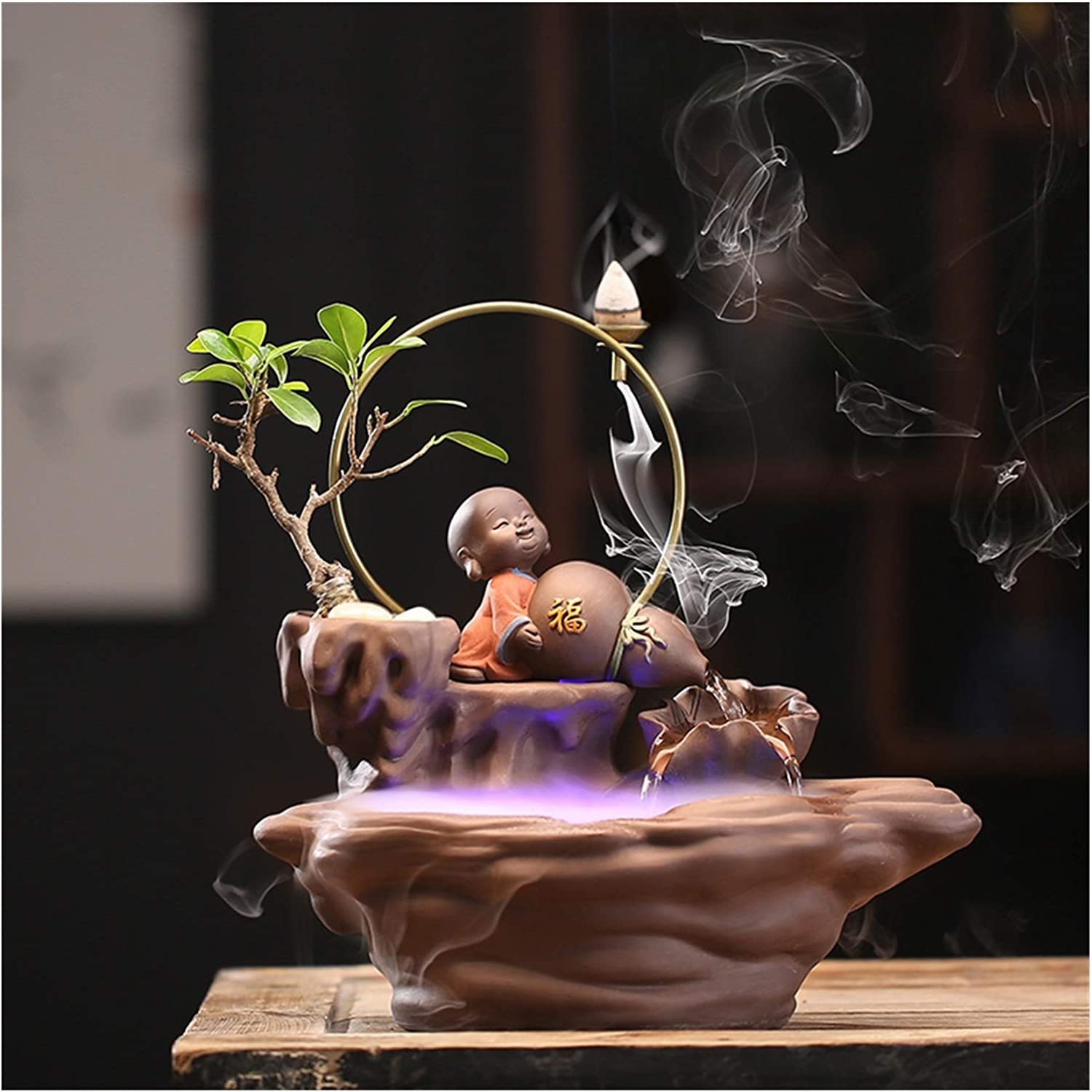 YAYA2021-SHOP Tabletop Fountain New Chinese Water High quality new Flowing free Style