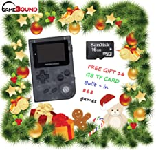 Retro Mini Handheld Video Game System, 16 GB Card, classic 1037 built in English GBA games