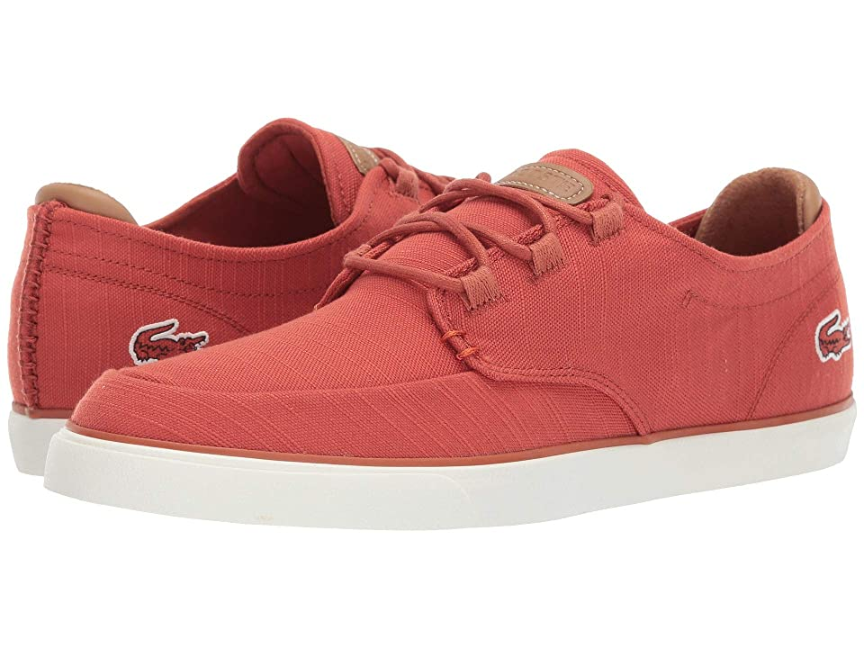 Lacoste Esparre Deck 119 3 CMA (Red/Light Brown) Men