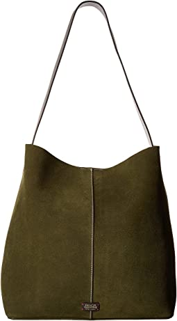 Frances Valentine - Finn Large Suede Shoulder Tote