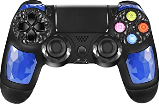 PS4 Controller ORDA Wireless Gamepad for Playstation 4/Pro/Slim/PC/Smart TV and Laptop with Vibration and Audio Function, ...