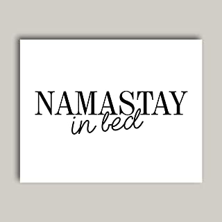 Best namaste in bed poster Reviews