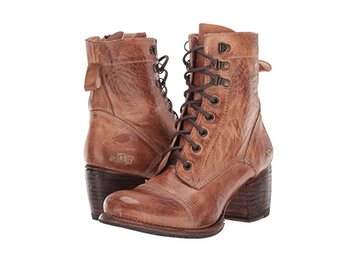 Bed Stu  Judgement (Tan Rustic) Womens Dress Lace-up Boots