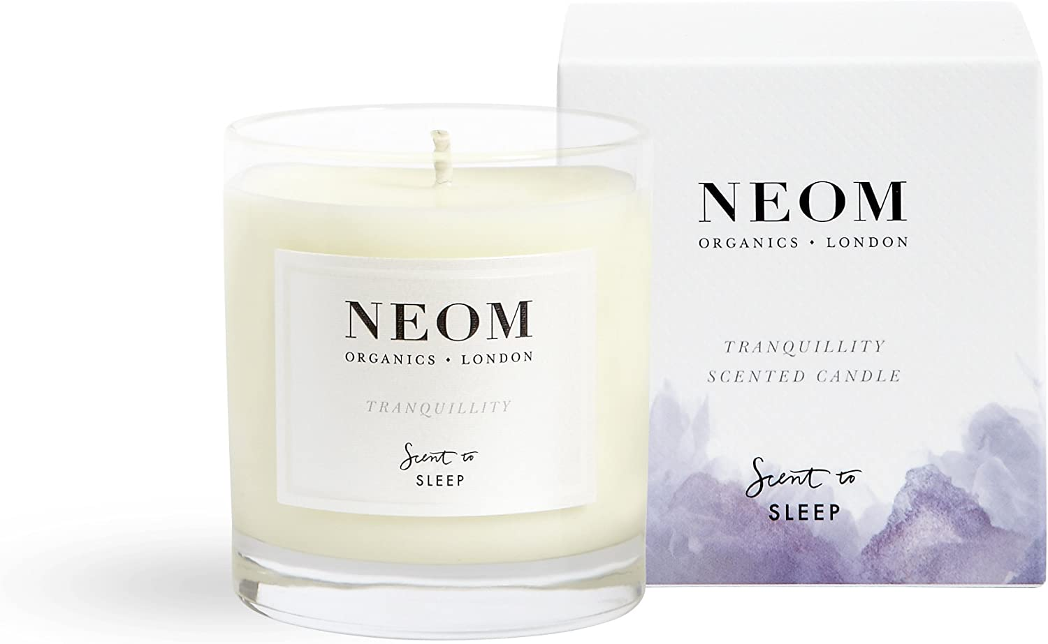 NEOM Organics 1 67% OFF of fixed price Wick Candle Tranquility 6.5 Denver Mall oz