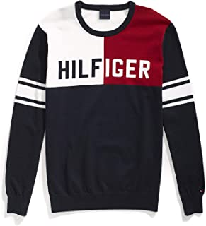 Tommy Hilfiger Men's Adaptive Sweater with Magnetic Buttons at Shoulders