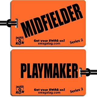 Midfielder/Playmaker Tag for Sports Bag or Backpack