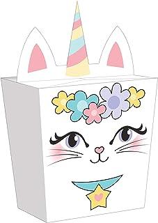 صندوق هدايا ساسي كاتيكورن مكون من 8 قطع وبمقاس 6 انش × 3.5 انش ومتعدد الألوان من كريتيف كونفيرنج