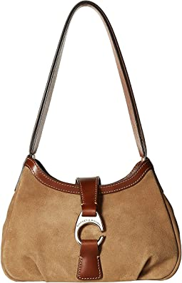 Derby Suede Shoulder Bag