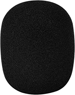Mudder Large Foam Mic Windscreen for MXL, Audio Technica, and Other Large Microphones, Black