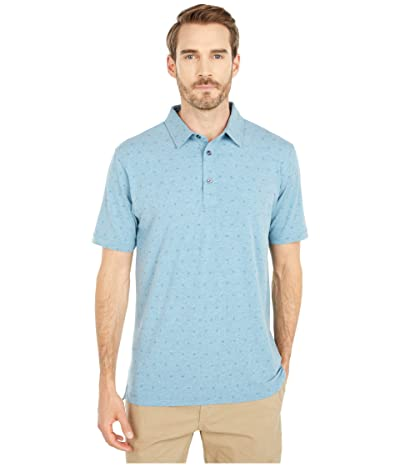 Linksoul LS1276 Dry-TEK Stretch Cotton Blend Polo (Abalone Heather) Men