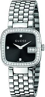 0b4f0124b0 Gucci G GUCCI - Reloj de Cuarzo para Mujer, con Correa de Acero Inoxidable,