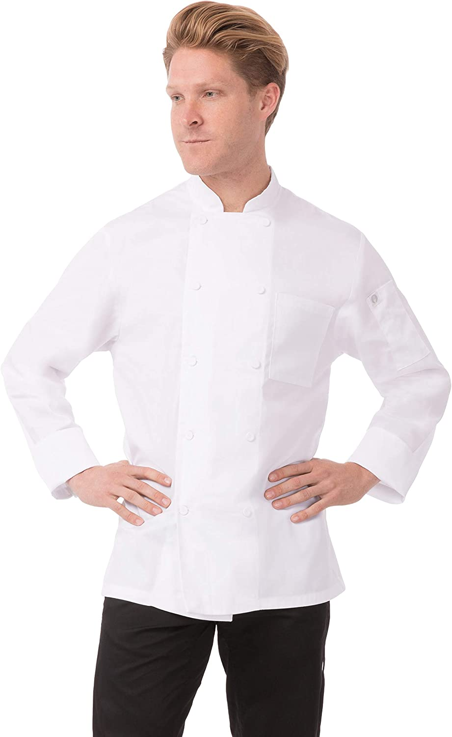 Chef Works Unisex-Adult's Calgary Cool Vent Chef Coat, White, 5XL: Clothing, Shoes & Jewelry