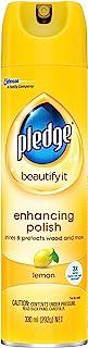 Pledge Furniture Polish, Lemon, 330g