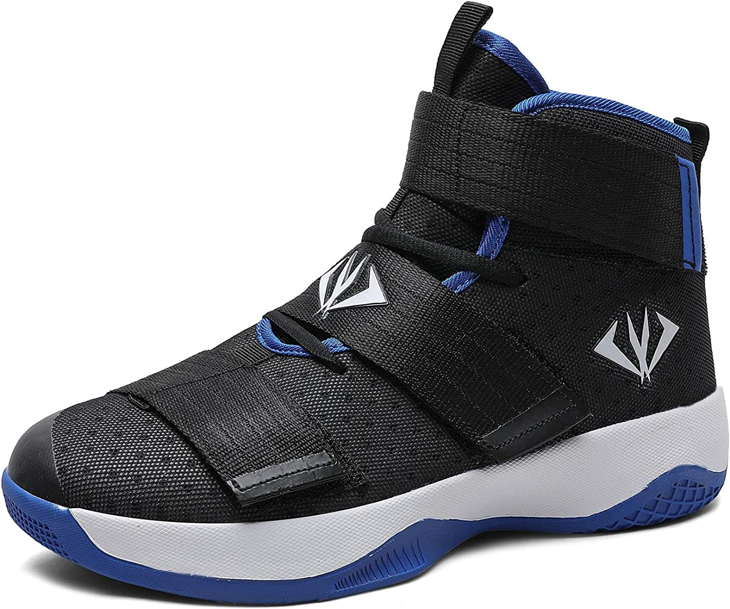 Courier shipping free shipping Directly managed store MAUGELY Men's Women's Velcro Basketball Student Shoes Breathable