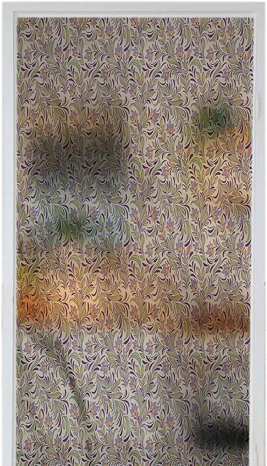 Detroit Mall Homesonne Window Self-Adhesive Film Stained Abs Decoration Glass Product