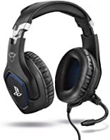 Trust Gaming GXT 488 Forze Cuffie PS4 e PS5 con Licenza Ufficiale PlayStation, Microfono Ripiegabile e Archetto...