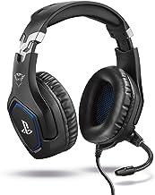 Trust Gaming GXT 488 Forze Cuffie PS4 e PS5 con Licenza Ufficiale PlayStation, Microfono Ripiegabile e Archetto Regolabile...