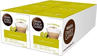 Nescafé - Nescafé - Dolce Gusto Cappuccino - Pack de 6 Sachets (96 Capsules)