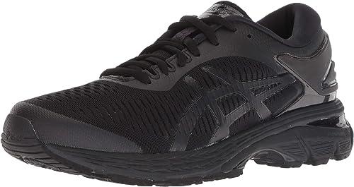 ASICS Gel-Kayano 25 Wohommes Running chaussures, noir noir, 12 B(M) US