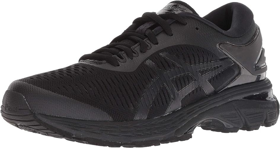 ASICS Gel-Kayano 25 Wohommes Running chaussures, noir noir, 11.5 B(M) US