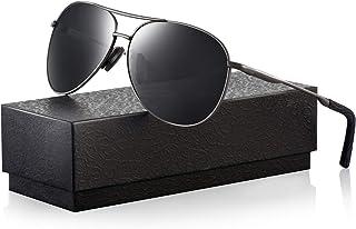 70f0f14d6 Polarized Aviator Sunglasses for Men - Feirdio Metal Frame Sports UV 400  Protection Mens Women.