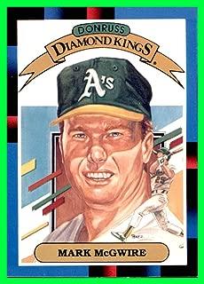 1988 Donruss #1 Mark McGwire Diamond King oakland a's athletics