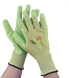 Gardening Gloves, Nitrile Coated Gloves, Garden/Work Gloves for Women Or Men