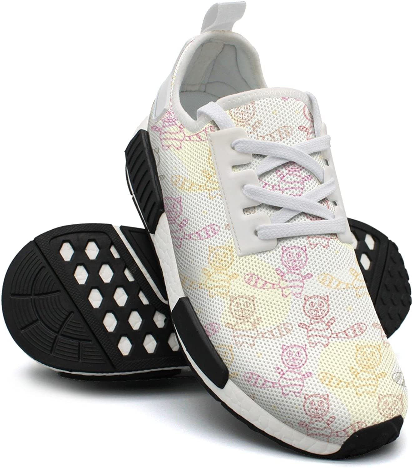 Colourful Persian Cat Women's Jogger Lightweight Sneakers shoes Gym Outdoor Sports shoes