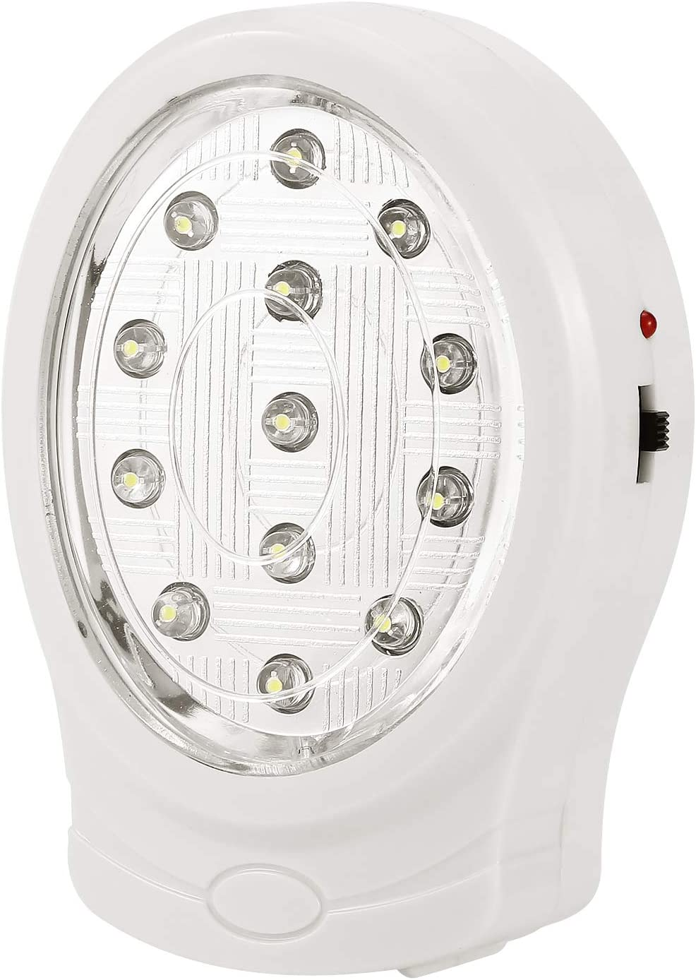Emergency Light 13 LED Rechargeable Home Automatic Power Failure Outage Light lamp Fire Emergency Light (US Plug)