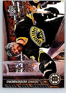 Hockey NHL 2015-16 Upper Deck #17 Dennis Seidenberg Bruins