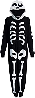 Adult Zip-Up Halloween Costume Coverall with Hood