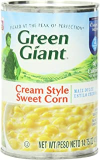 Green Giant Cream Style Corn 14.75 Oz (Pack of 6)