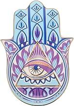 Garneck Evil Eye Mão de Fátima Titular Chave Ashtary Placa Trinket Jóias Trinket Anel Jóias Bandeja Prato Prato Decorativo...