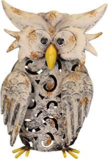 Windhorse Marron Clair Dessin anim/é Hibou Attrape-Soleil /à Suspendre Sun Catcher Housse de 21/ cm de Long D/écor
