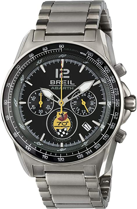 Orologio abarth- breil - movimento os21 miyota - orologio al quarzo - chrono gent con quadrante analogico TW1831