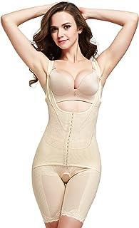 e683aad06f Queenral Women Body Briefer Smooth Wear Your Own Bra Slimmer Shapewear  Bodysuits Full Body Shaper Underbust