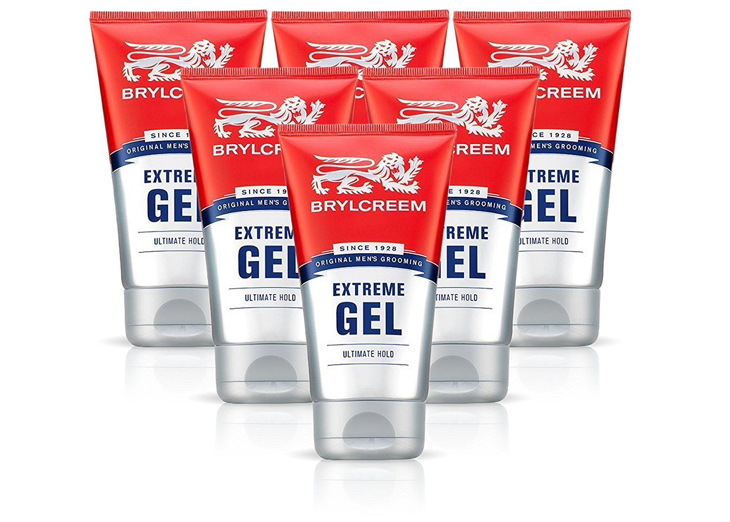 6X BRYLCREEM EXTREME ULTIMATE HOLD GEL STYLING 150ML MENS HAIR Many popular Max 42% OFF brands V
