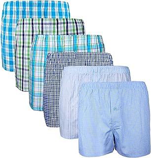 comprar comparacion XIAOYAO Calzoncillos Boxer Hombre American Style, Pack de 6