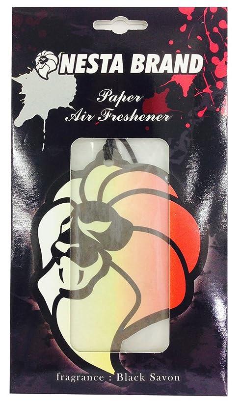 驚きシダスノーケルネスタブランド エアーフレッシュナー 吊り下げ ブラックサボンの香り OA-NNA-11-1