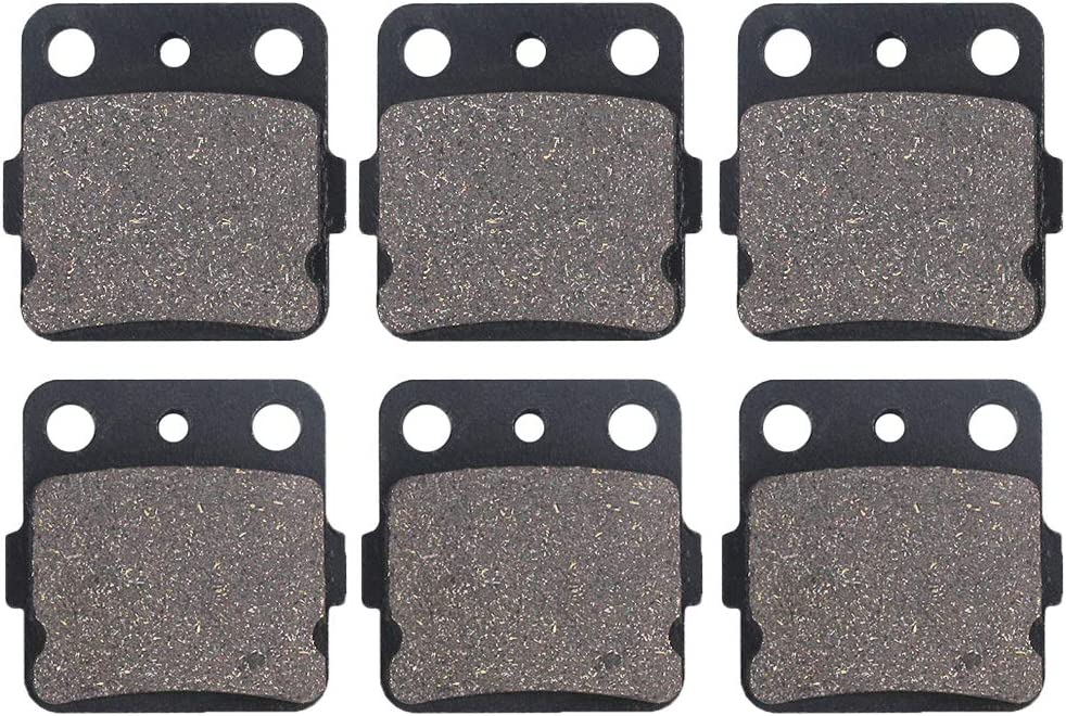 Cyleto Front and Rear Brake Pads 2005 YFM350 for Cheap super Long-awaited special price 350 2004 Raptor