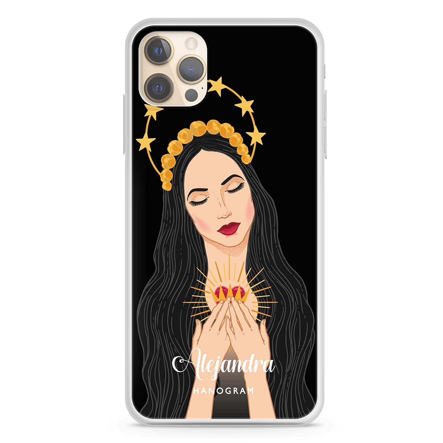 The Virgin Mary iPhone 12 Pro Max 43% OFF Soft iP Clear Case Clearance SALE! Limited time!