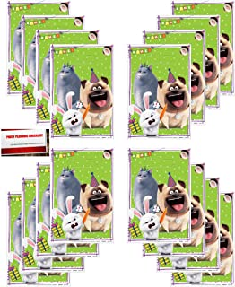 (16 Pack) Secret Life of Pets Part 2 Party Plastic Loot Treat Candy Favor Bags Lootbags (Plus Party Planning Checklist by Mikes Super Store)