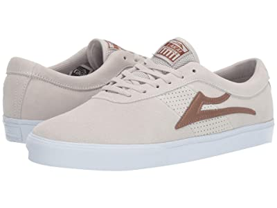 Lakai Sheffield (White/Bronze Suede) Men