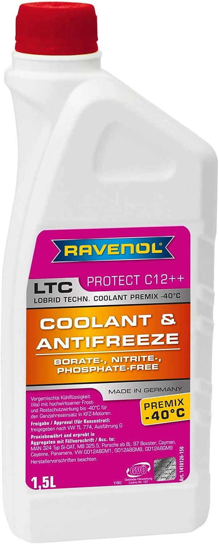 RAVENOL J4D2126-150 LTC C12++ Coolant 325.5 Ranking TOP15 Antifreeze Max 61% OFF MB Premix