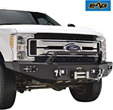 EAG Front Winch Bumper with LED Light Rock Crawler